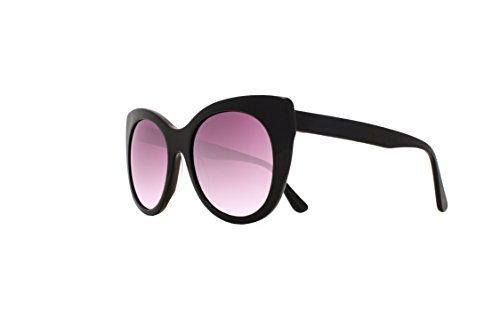 Joes Jeans Women's Jj 1008 Cat Eye Fashion Cateye Sunglasses, Black, 140 - Sunglasses Joe's Jeans