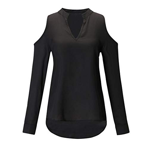 Clearance Women Shirt LuluZanm Casual Long Sleeve Ladies Strapless V-neck Blouse Pullover ShirtTops: Amazon.com: Grocery & Gourmet Food