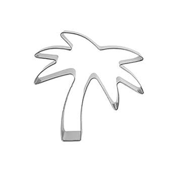 ... Árbol de Coco Pastry accesorios vegetal cortador de galletas herramientas para galletas moldes para yeso acero inoxidable venta dz189: Amazon.es: Hogar