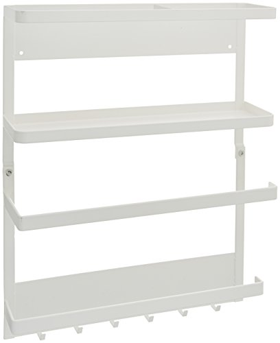 YAMAZAKI home Plate Magnetic Kitchen Organization Rack -