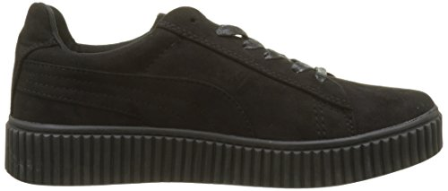 Molly Bracken Damen Basket Fleur Sneaker Schwarz (Black)