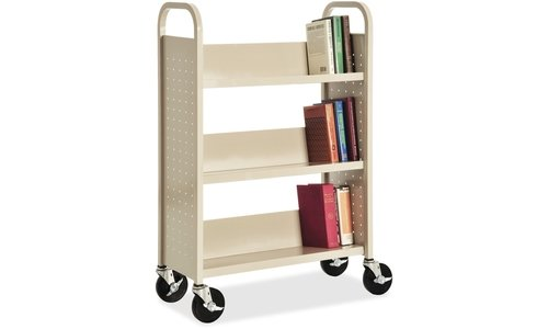 Single Sided Book Cart (Lorell Single Sided Book Cart)