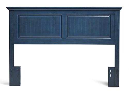 Mantua Arcadia Wood Headboard, Twin, Wedgewood Blue, HB33-CB