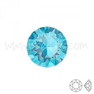 I-Beads cristallo Swarovski 1088xirius Chaton Aquamarine 8mm-ss39(3)