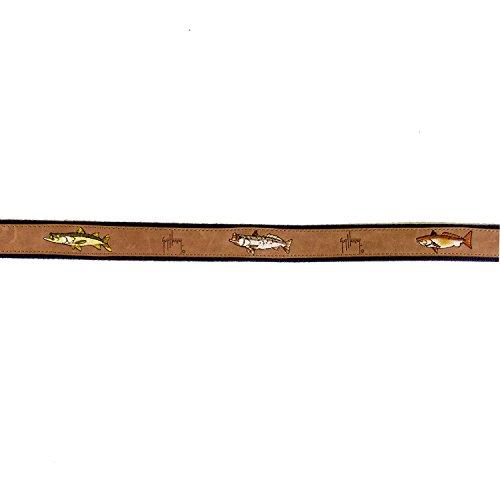 Guy Harvey Leather Belts - Backcountry Slam Navy (32