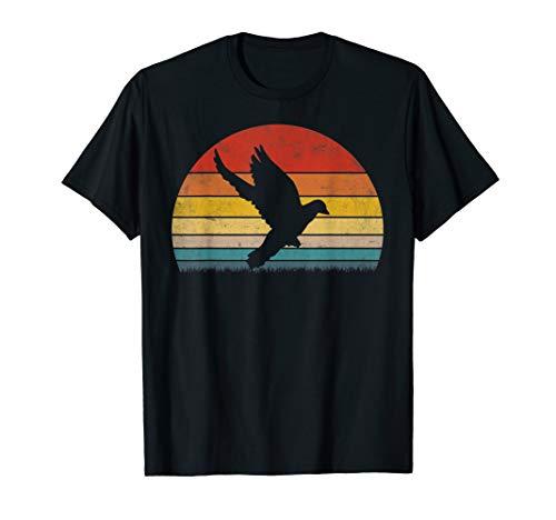 Vintage 80s Pigeon Dove Animal T-Shirt Designs for Men Women