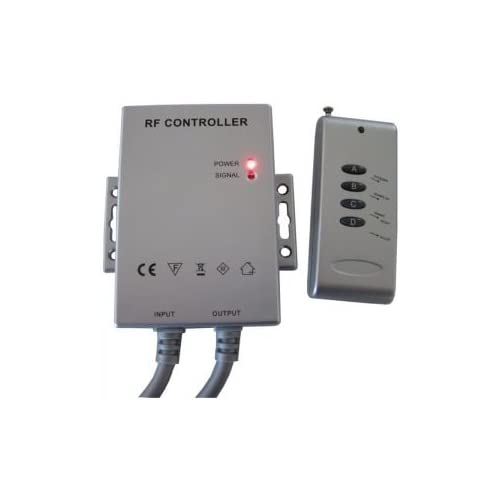 60%OFF Pack of ONE (1), 12V / 24V RF Remote Control Color Changer Controller Waterproof