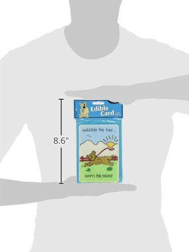 Product image of Crunchkins Edible Crunch Card, Birthday, Unleash The Fun