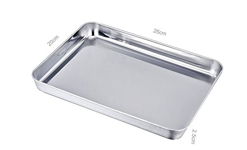 sixly stainless steel baking sheet bakeware cookie pan. Black Bedroom Furniture Sets. Home Design Ideas