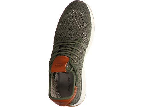 Sneakers Gant Homme Green G77 Basses Atlanta khaki PqqxB5vw6