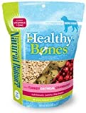 Natural Balance Pet Food Healthy Bones Treats for Dogs Turkey Oatmeal and Cranberry — 16 oz, My Pet Supplies