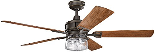 Kichler Outdoor Ceiling Light - Kichler Lighting Kichler 310140OZ, Lyndon Patio Olde Bronze 60