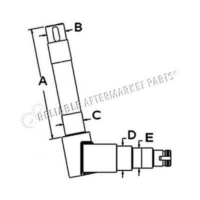 SBA330300380 Ford New Holland Tractor 1100 1110 1200 1210...