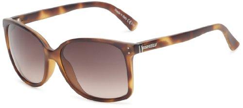 VonZipper Castaway Square Sunglasses,Tortoise Satin,One - Sunglasses Von Zipper Girls