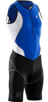 CEP Sportswear Compression Triathlon Skinsuit for Women in Blue III