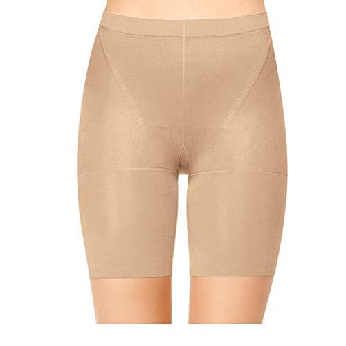 SPANX Women's In-Power Super Panties, Nude, B M US