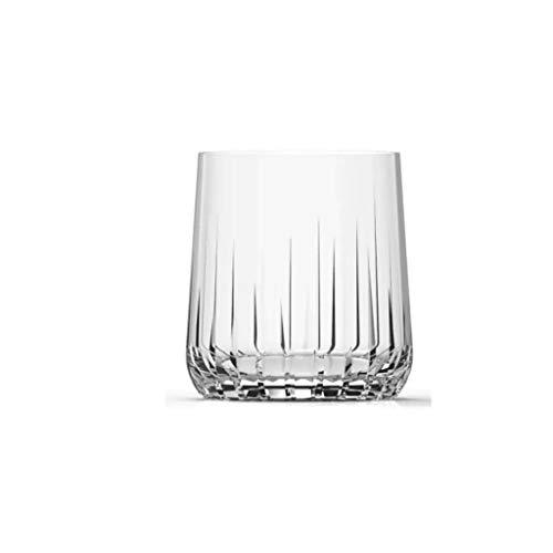 Pasabahce Nova Whisky Glass   Set of 6  315 ml ,Clear