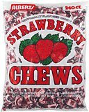 Albert\'s Fruit Chews - Strawberry Flavor (240 Candies)