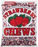 Albert's Fruit Chews - Strawberry Flavor (240 Candies)