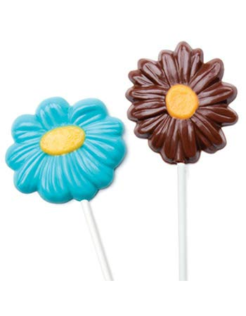 Daisy Pop Candy Molds - Make N' Mold Dress My Cupcake Loves Me Daisy Pops Candy Mold