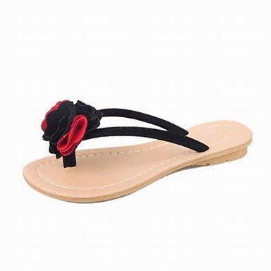 Women'sbrillando decorar verano Oficina PU &Amp; Carrera Casual sandalias de encaje US6 / EU36 / UK4 / CN36