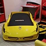 F1 Spyder Race CAR Bed (Yellow)