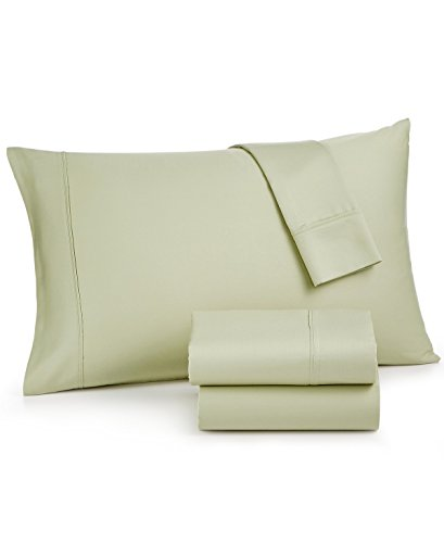 AQ Textiles Mason 4 Piece Sheet Set, 800 Thread Count, Green, Queen - Pillow Mason Collection