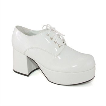 Pimp Adult Costume Shoes White - Small for $<!--$40.59-->