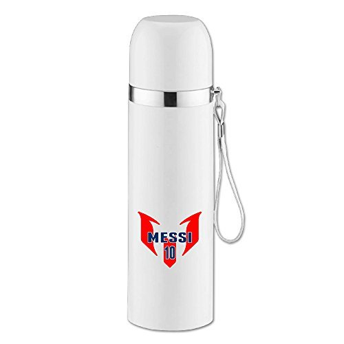 MEGGE Soccer Star Leo Messi Durable Vacuum Thermal Insulation Cup