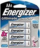Energizer AA E2 Lithium Batteries - 8-pk.