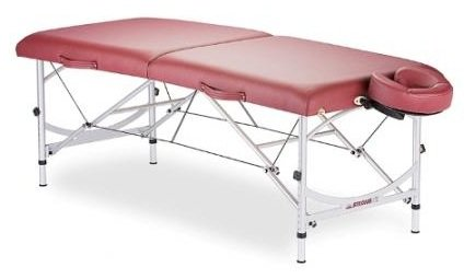 Stronglite Versalite Portable Massage Table Package - Professional, Lightweight, Incl. Deluxe Adjustable Headrest and FacePillow
