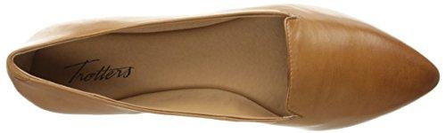 Trotters Women's Harlowe Pointed Toe Flat Luggage JRIVIsHm