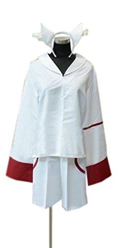 Nanoha Cosplay Costume (Dreamcosplay Magical Girl Lyrical Nanoha Suit Cosplay Costume)
