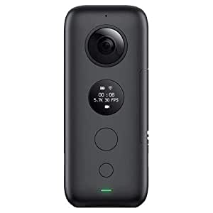 Insta360 ONE X 360 Camera FlowState Stabilization (SD Card Sold Independently, V30 microSDXC is Required)