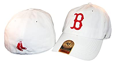 47 Brand Boston Red Sox White Franchise Fitted Hat