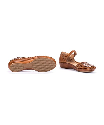 Marrón 655 Sandals Vallarta Strap Pikolinos P Women's Ankle tq0OAO