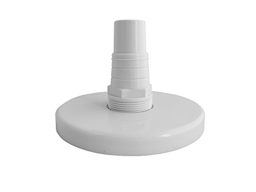 - Fibropool Above-Ground Skimmer Vac Plate with Combo Adapter Replacement