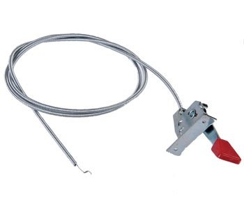 Snapper Riding Mower Throttle Control Cable Assembly Part No: A-B1SB233, 11130, 12061, 290403, 58807, 60061