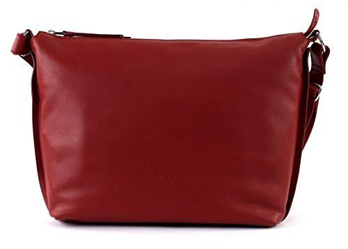 Bree Toulouse 2 Borsa a spalla pelle 32 cm Rosso