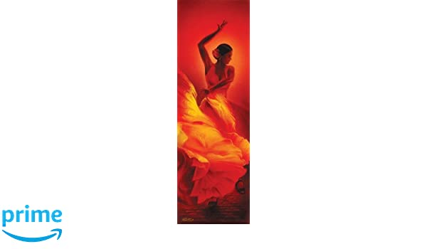 Culturenik Tango Dancer Decorative Art Poster Print 12X36 UNFRAMED POSTER