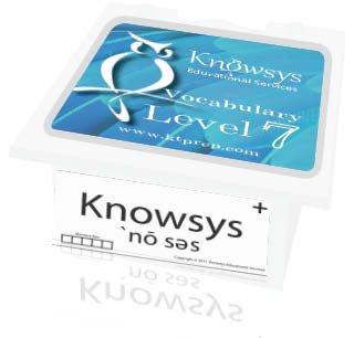 Read Online Knowsys Vocab Flashcards Level 7 pdf epub