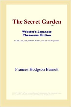 Book The Secret Garden (Webster's Japanese Thesaurus Edition)