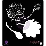 Bulk Buy: Prima Marketing (3-Pack) Jamie Doughtery Bloom Stencil 6in. x 6in. Anenome BLSTN66-80368