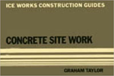 Book Concrete Site Work First edition by Graham Taylor (1984)