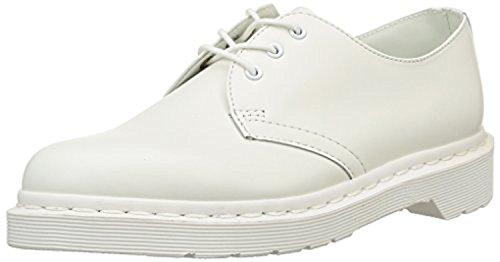 Dr. Martens Mono 1461 3-Eyelet Smooth Shoes White US Men 10/Women 11 & Bandana