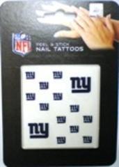 (Rico NFL NY Giants Nail Tattoos)