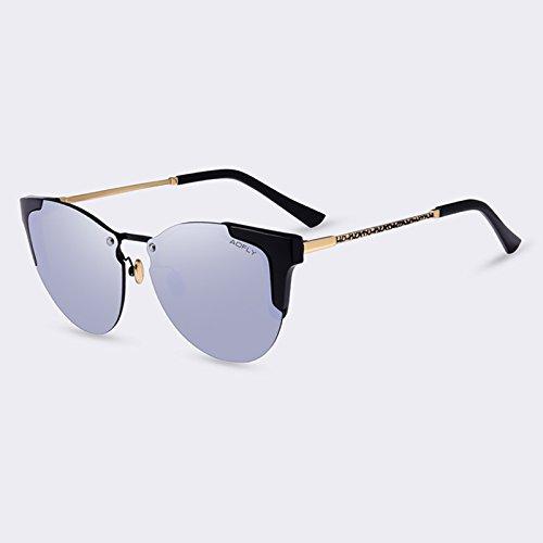 de Gafas de gafas de TIANLIANG04 degradado Gafas espejo Moda C06Mirror femme Ojo de soleil gafas mujeres de de C05gris sol lujo de sol Gato lunettes ZXOafqrYZ