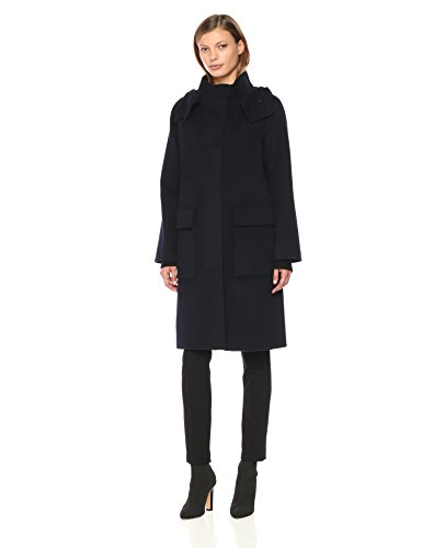 (Theory Women's Duffle Coat Df Outerwear, Nocturne)