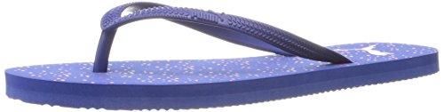 PUMA Women's First Flip WNS Dots Athletic Sandal, Mazarine Blue/Fandan, 7.5 M - Sandals Dots Womens