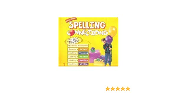 Spelling Connections Level 1 Richard Gentry 9780736700375